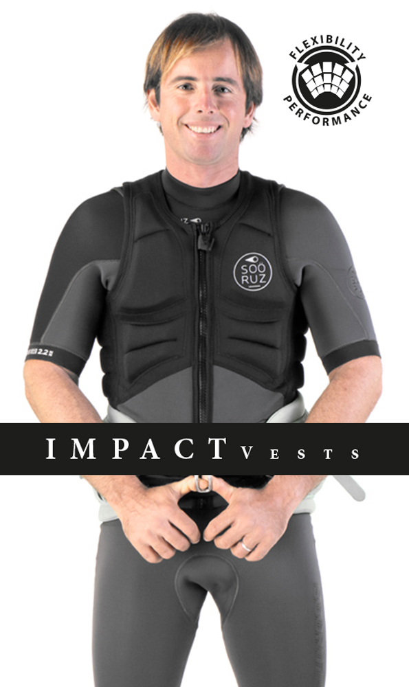 The Impact vests Soöruz range is really large, to the needs of all watersports . From89€.