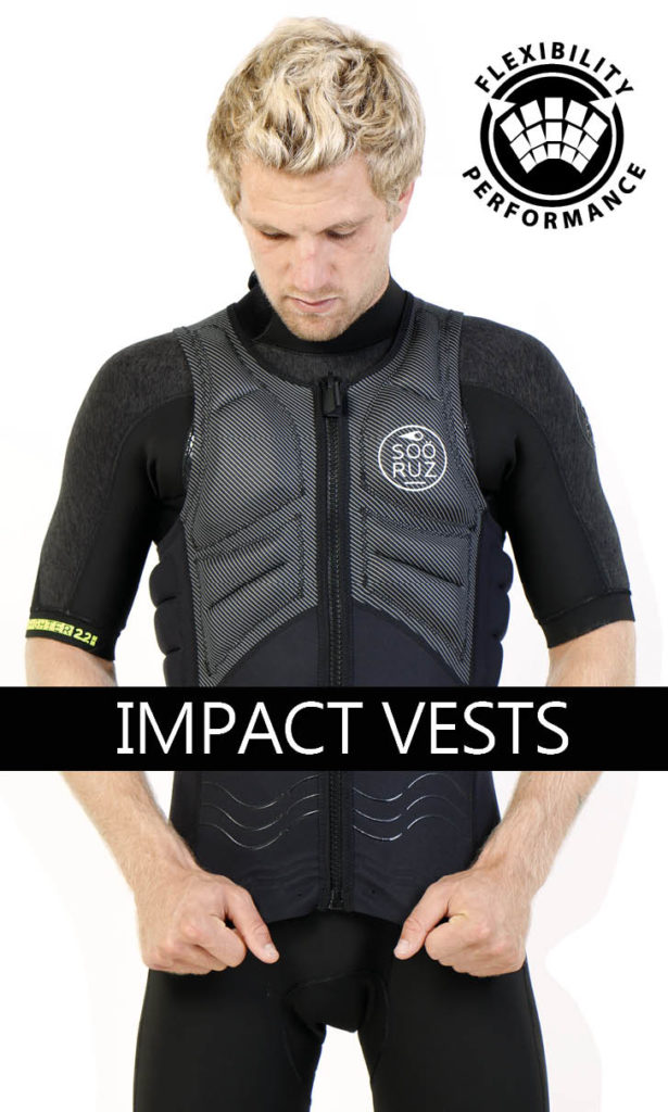 The Impact vests Soöruz range is really large, to the needs of all watersports . From 79€.