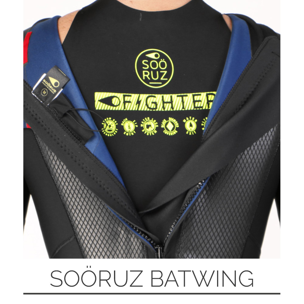 E19 SOORUZ FIGHTER FULLSUIT BZ BACK ZIP