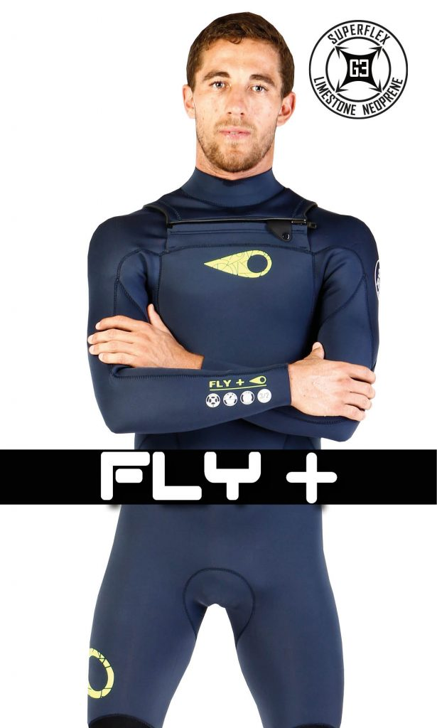 The FLY wetsuits get the SÖORUZ expertise for the best accessible price,  From 79 €.