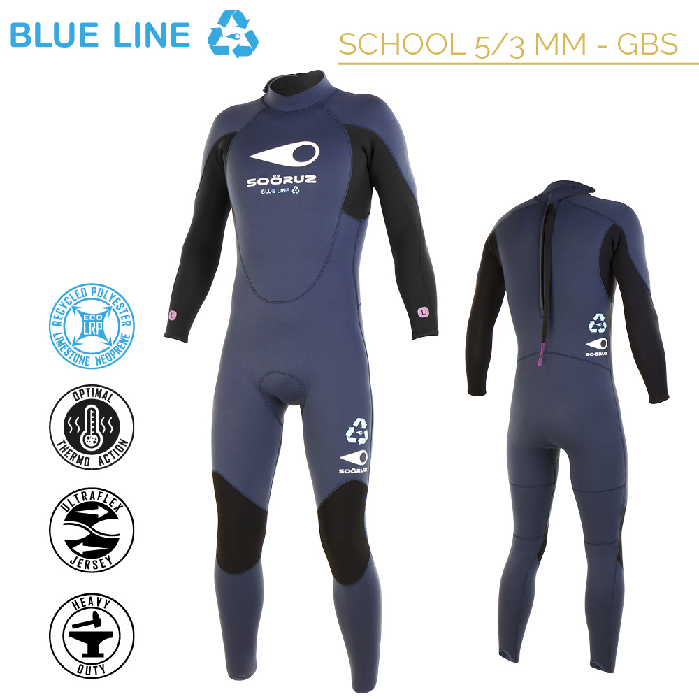 BLUE LINE Eco-Friendly School Wetsuits