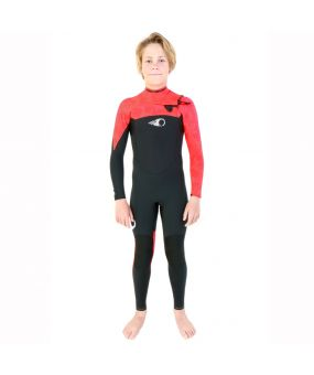 Combinaison KID 5/4/3 mm FIGHTER Chest-zip