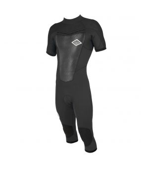 Cut wetsuit 3/2 FIGHTER Front-zip Long Sleeves