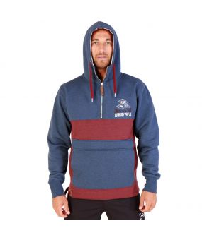 Sweat alfzip hood organic UNIT