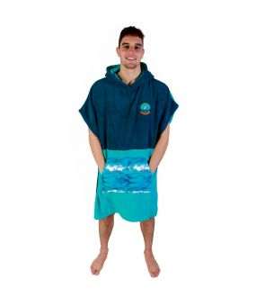 Poncho PUNCH Microfiber