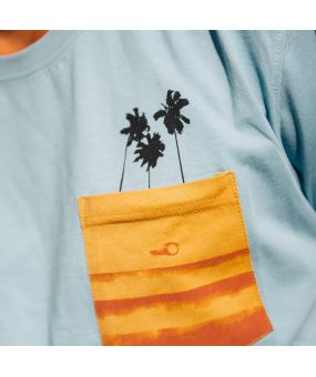 T-shirt POCKET TREES organic cotton