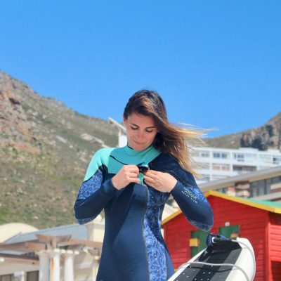 """The ABYSS wetsuit is amazing. It dries quickly, it's easy to put in. Perfect to surf under the sun or in winter."""
